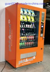 Verkoopmachine snacks en drankjes Verkoopmachine in Zwart 1830*1056*830 mm