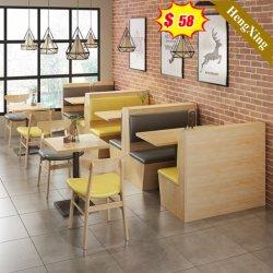 심플한 디자인 목재 멜라민 라미네이트 또는 MDF 도매 의자 소파 식탁과 일치하는 레스토랑 가구