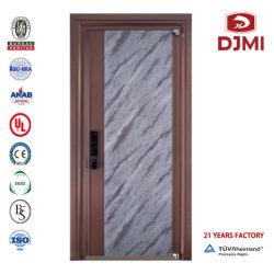 Portello corazzato dei portelli del richiamo di alta qualità di stile europeo resistente di legno d'acciaio turco residenziale resistente di sicurezza