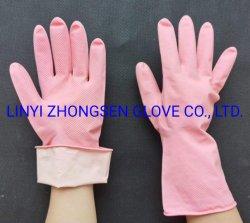 Schotels die van de Keuken van de Handschoenen van het Huishouden van het latex de Dunne Plastic Rubber Rubber Schoonmakende Handschoenen van het Huishouden van Kleren de Rubber Waterdichte wassen