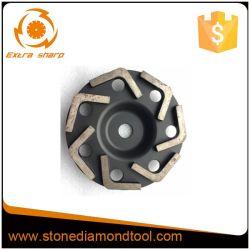 """4 """" Wiel van de Kop van de Diamant van het Wiel van de Kop van de Rij van 105mm het Enige Turbo Malende"""