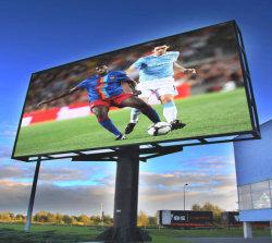 P6 실외 풀 컬러 LED 사인 패널 화면 광고 표시