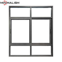 El aluminio/aluminio Casement ventana deslizante/parrilla de hierro de puerta/diseño/toldo/fijo/Fix