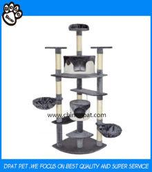 Bom Qualtiy Cat Mobiliário para arranhar a árvore de PET de produtos animais