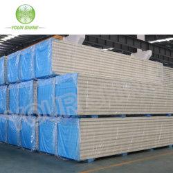 Mejor precio de buena calidad de almacenamiento en frío y la habitación estaba limpia PU/paneles sándwich PIR con ISO9001