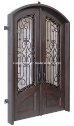 장식을%s 철 그리고 유리를 가진 상업적인 이용된 정면 등록 문