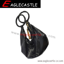 Malha de metal jóias sacas / Fashion Lady Noite Bag / Parte Drastring Bag Bolsa de Alumínio / Saco de parte da noite (CX19595)