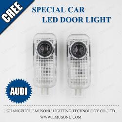 Lmusonu LED 도어 로고 라이트 LED 레이저 카 로고 라이트 아우디