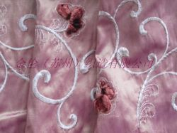 Bordados de tecido de poliéster de nylon/Janela tecido cega (jl0035)