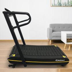 Gimnasio en casa cinta mini máquina de correr a pie Motorless curvo abatible andadera equipos de gimnasia