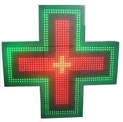 P16 de doble cara de LED de exterior Rg Farmacia Cruz de farmacia