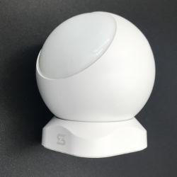 Casa de alarma de seguridad inalámbrica interior Dispositivo de sensor de movimiento humano