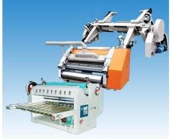 Single facer motorizada Linha Corrugador máquina de fazer de papelão ondulado para