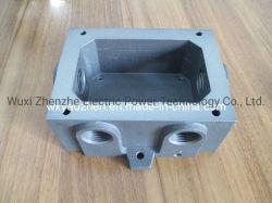 Dispositivo médico de aluminio y piezas de repuesto/componente mecánico/máquina pesada Adeptor tubo conector, realizada por la gravedad de fundición de aluminio de fundición y baja presión
