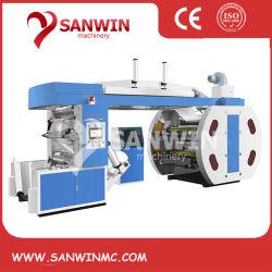 China Proveedor de rollo a rollo máquina de impresión Flexo Plástico bolsa de papel de la máquina de impresión flexo de vasos de papel de la máquina impresora flexográfica Precio