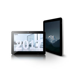 LCD Digital Signage Android Tablet todos en un comienzo inteligente con pantalla táctil Tablet PC para visualización de publicidad