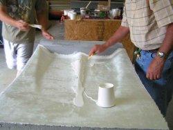 قماش الألياف الزجاجية (CMAX010) / غطاء جدار الزجاج الفُريجي