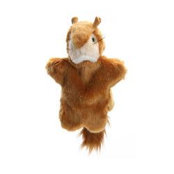 Os brinquedos de pelúcia personalizado Esquilo Bonecos fantoche de mão para venda