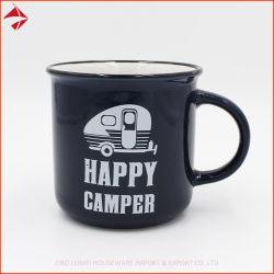 Esmalte Hardware Espresso taza de té Forcamping Camping Caza Pesca - Novedad Regalo para los hombres él Papá Abuelo Pescador