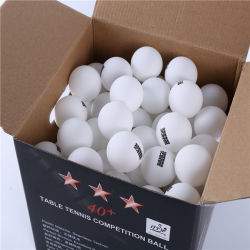Ittf genehmigte Klingeln Pong Kugel-Tischtennis-Kugel