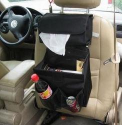 조직 상자가 있는 자동차 오거나이저, 자동차 보관용 가방