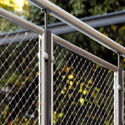 ステンレススチールワイヤロープメッシュケーブル安全ネット(階段 / バルコニー用) 保護