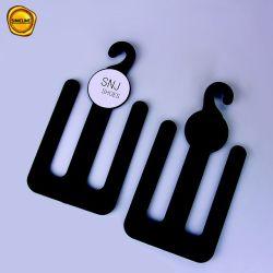 La plastica nera riciclabile di Sinicline calza il gancio con il marchio su ordinazione