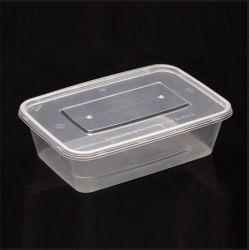 Las tapas de Non-Leaking y pasar la prueba de compresión, almacenamiento de alimentos de plástico