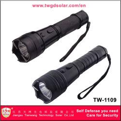 Tensão alta auto defesa com lanterna LED pistolas paralisantes