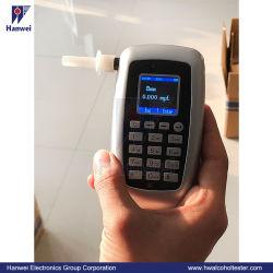 Analizzatore digitale di alcool per la polizia con funzione di caricamento dei dati (AT8800)
