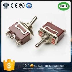 Interrupteur à bascule monté sur rail DIN 9 broches de l'interrupteur à bascule (FBELE)