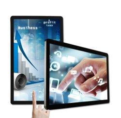 Montage mural de 32 pouces écran tactile panneau LCD tous dans un kiosque à écran tactile