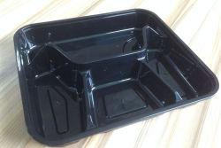 中国のプラスチック食糧食事の準備のBentoの容器5コンパートメントマイクロウェーブ