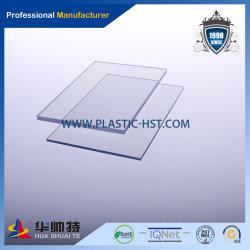Acrylique couleur solide feuille de durable pour la décoration