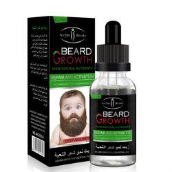 プライベートラベル100%の自然で純粋なひげの成長オイル有機性自然なメンズひげの精油