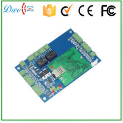 Porta dupla TCP IP Access Controller suporta 2 portas 4 Leitores