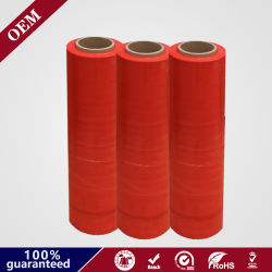 5 слоев LLDPE машины красного цвета ручного натяжения пленки