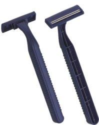 Sandvikスウェーデンの対の刃の使い捨て可能な剃るかみそり(KD-2003)