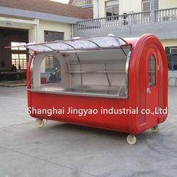 Cono de helado de anillos comercial de cerveza de la máquina expendedora de perrito caliente para la venta de camiones