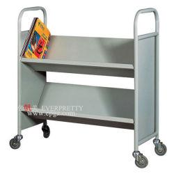 高品質ライブラリ移動可能な家具の耐久の本箱