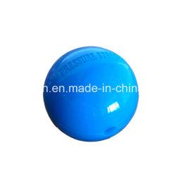 Het verbrijzeling-Bewijs van de douane de Grootte Geperforeerde Plastic Kurk van de Bal van de Kraanbalk/HDPE Plastic Bal voor Vijver
