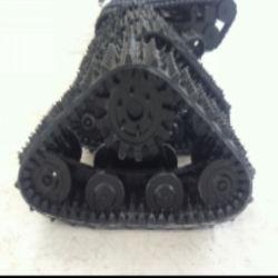 ATV/кроссовера систем резиновые гусеницы 400кг загрузка несут
