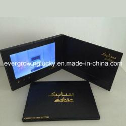 7 pouces écran LCD personnalisé Carte de voeux vidéo en provenance de Chine