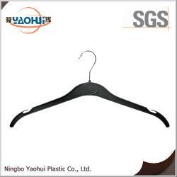 Lavandaria gancho de plástico com o gancho de metal para roupas (42cm)