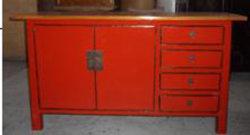 Buffet de madeira Furnitue antigo chinês