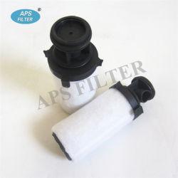 As peças do compressor de ar no elemento do filtro de linha de marcação0006nb Marcação0006NC Marcação0006ND Marcação0006ne Marcação0006NF