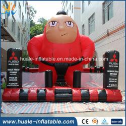스포츠 게임을%s 사건 Sumo 뛰어오르는 장난감 팽창식 도약자 광고
