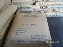 Citraat het van uitstekende kwaliteit van het Natrium van de Rang van het Voedsel (Na3C6H5O7)