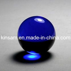 파란 수정같은 유리제 공 K9 수정같은 유리 용 공 (KS12060)