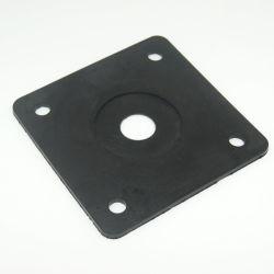 Qualitäts-Dämpfung Gummigleichheit-Platten-Gummilokalisierungs-Gummiauflage für Maschinerie